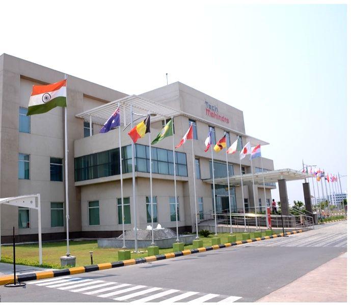 Tech Mahindra's Chennai office campus. (File Photo: IANS)