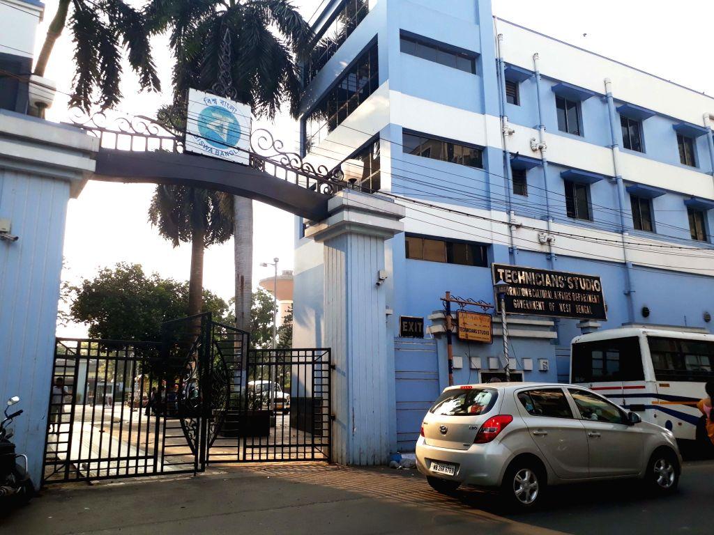 Technicians' Studio bears a deserted look amid COVID-19 (cornavirus) pandemic, in Kolkata on March 18, 2020.