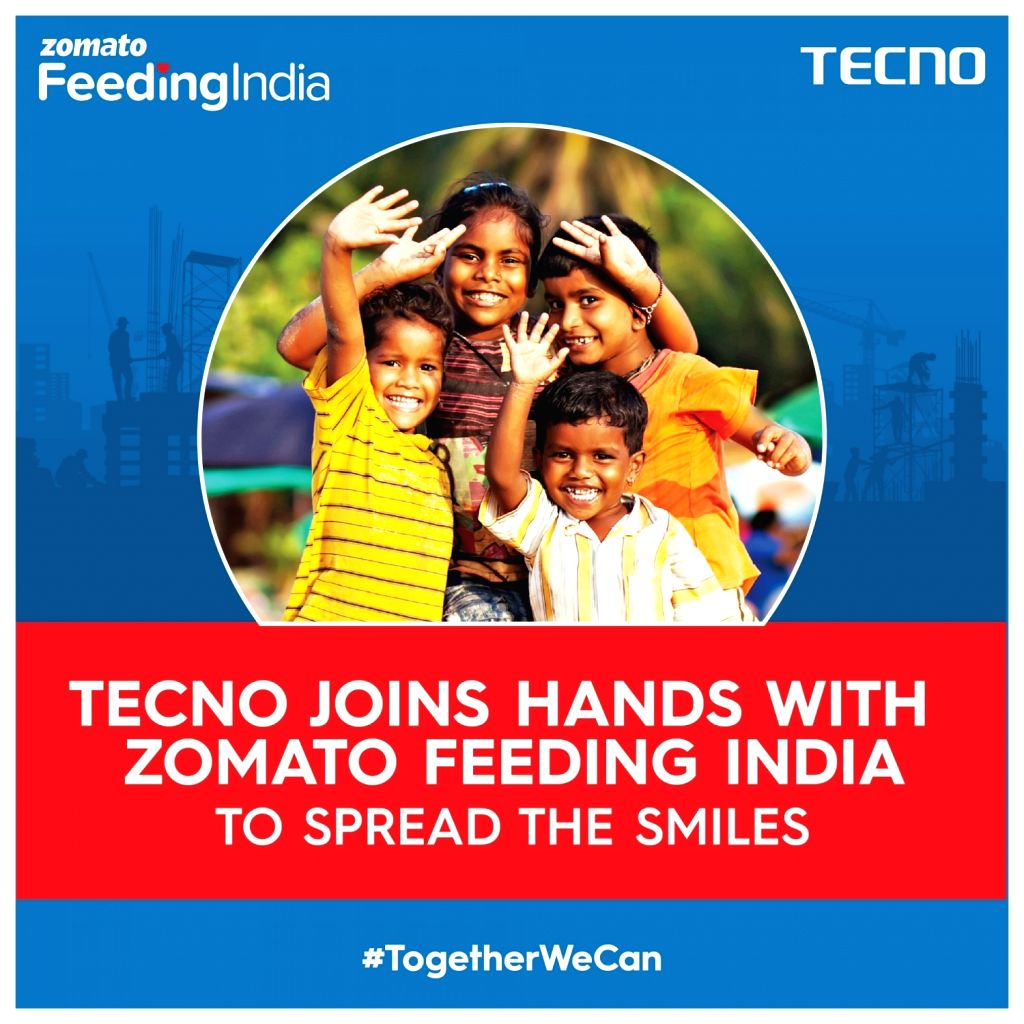 TECNO teams up with channel partners, Zomato to feed 60k Indians.