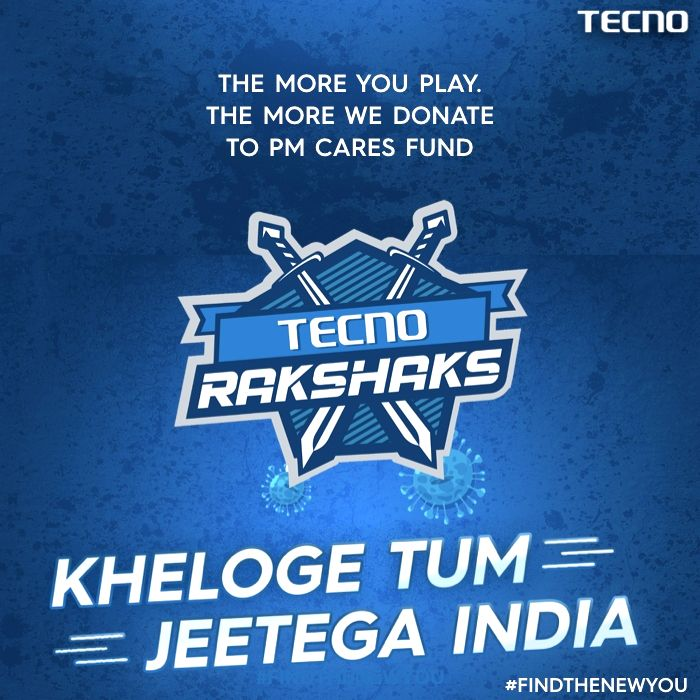 TECNO, the global premium smartphone brand of Transsion Holdings, on Tuesday launched 'TECNO Rakshaks that allows people to have fun by playing game of killing deadly coronavirus with simple swipes and at the same time raise money for the
