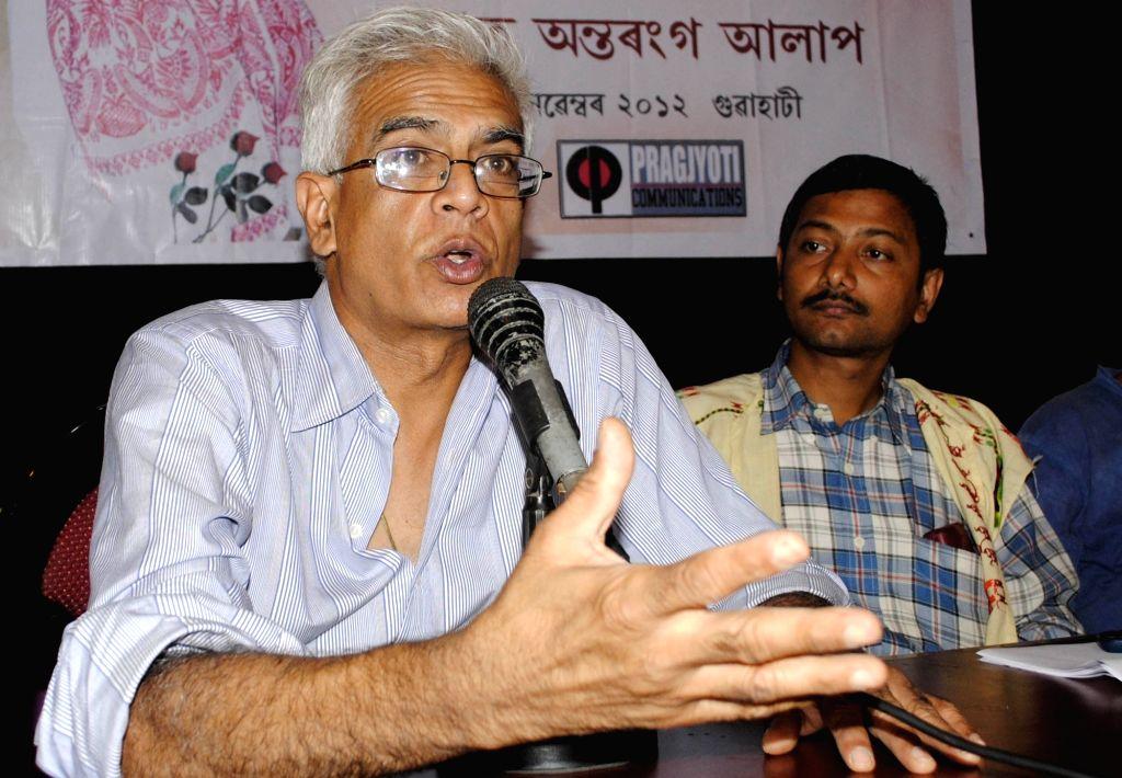Tej Hazarika, son of famed Assamese singer-composer Bhupen Hazarika. (File Photo: IANS)