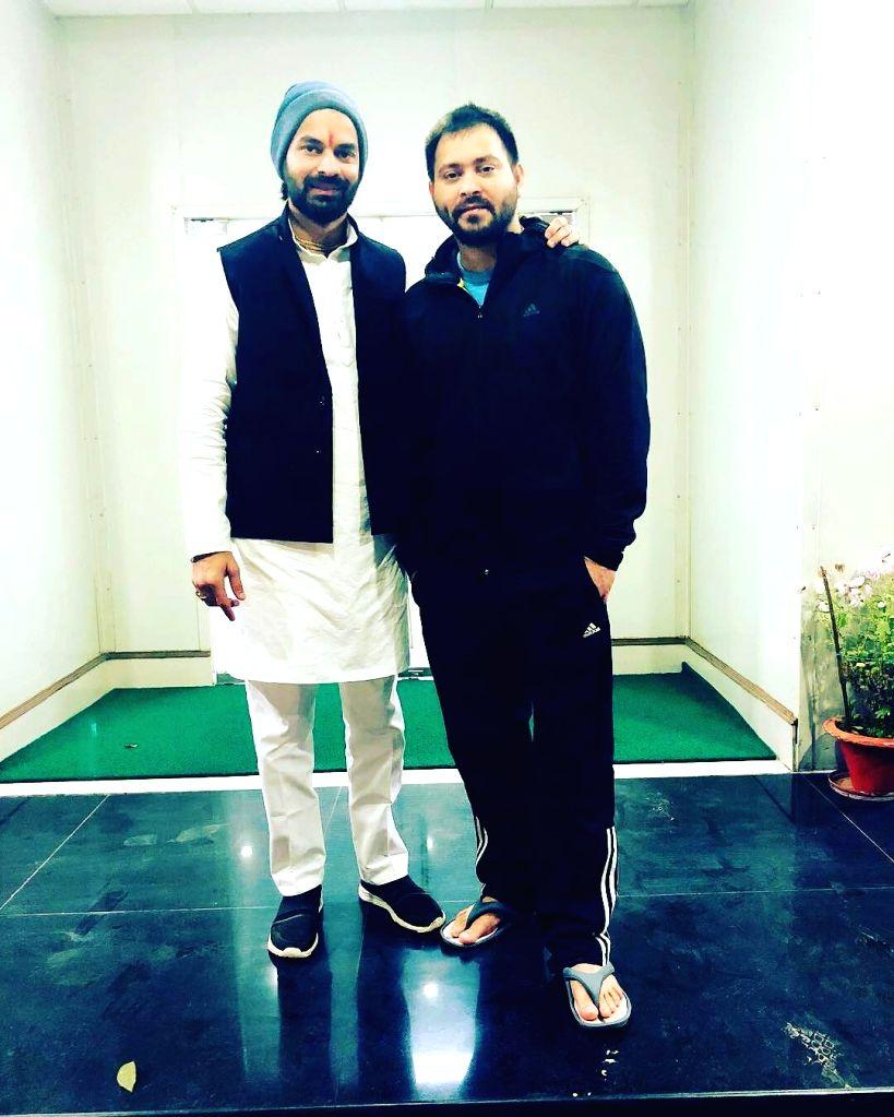 Tej Pratap Yadav and Tejashwi Yadav. (Photo Courtesy: Instagram) - Tej Pratap Yadav and Tejashwi Yadav