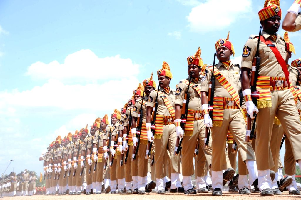 Telangana formation day celebrations underway in Hyderabad, on June 2, 2017.