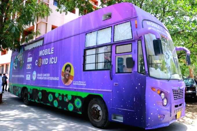 Telangana gets first mobile ICU for Covid.