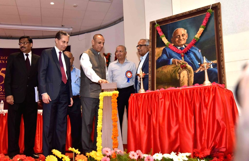 Telangana Governor E. S. L. Narasimhan inaugurates the Golden Jubilee celebrations of Birla Archaeological and Cultural Research Institute (BACRI) in Hyderabad on July 26, 2019.