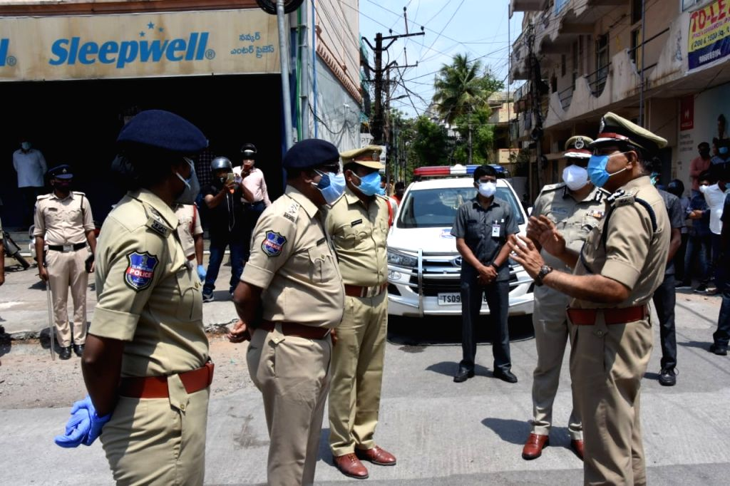 Telangana intensifies policing to enforce lockdown.
