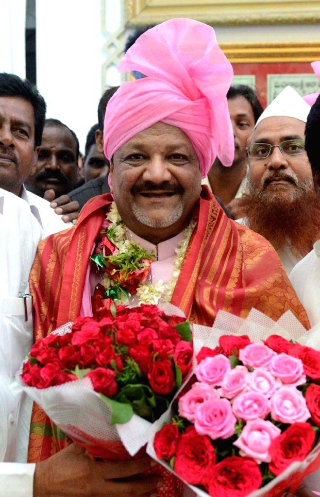 Telangana Rashtra Samithi (TRS) legislator Farooq Hussain. (File Photo: IANS)