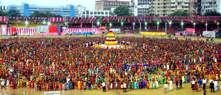 Telangana\'s \'Maha Bathukamma\' floral festival sets World record