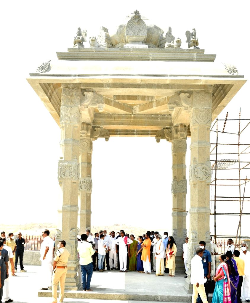 Telangana's Yadadri temple to re-open in May after renovation
