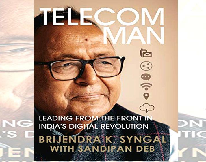 Telecom Man book cover.