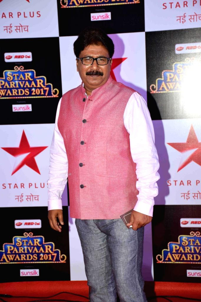 Television actor Ashok Lokhande during the red carpet of Star Parivaar Awards 2017 in Mumbai on May 13, 2017. - Ashok Lokhande