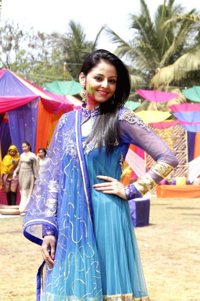 Holi episode shoot of Colors TV Channel serials Madhubala