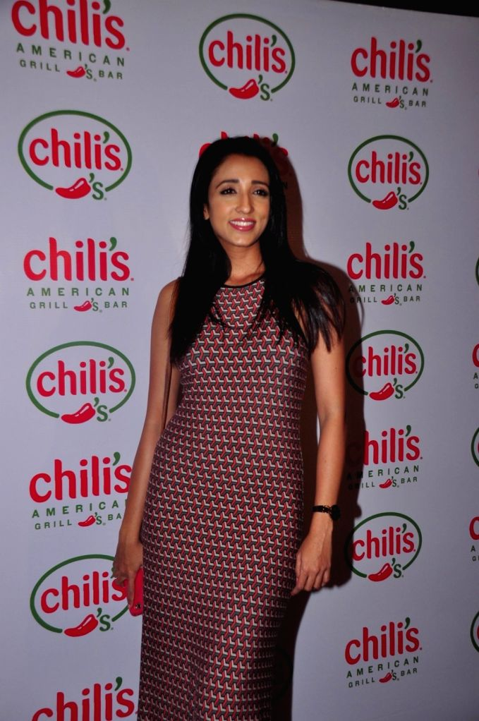 Television actor Iris Maity during the 1st wedding anniversary party of Ruslaan Mumtaz and Nirali at the Chili`s American Grill and Bar, in Mumbai on Nov 15, 2015. - Iris Maity