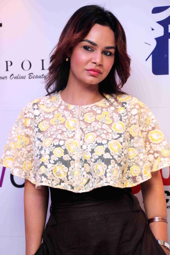 Television actor Kavita Varma during I am Woman event, in Mumbai on April 5, 2016. - Kavita Varma