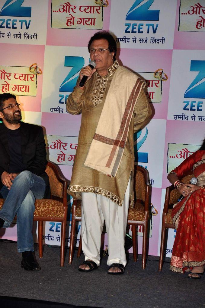 Television actor Rajeev Verma during the press conference of Zee TV's new show, Aur Pyaar Ho Gaya in Mumbai on December 20, 2013. - Rajeev Verma