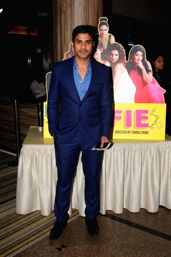 Television actor Vikas Bhalla during the premiere of English play Selfie in Mumbai, on August 12, 2016. - Vikas Bhalla
