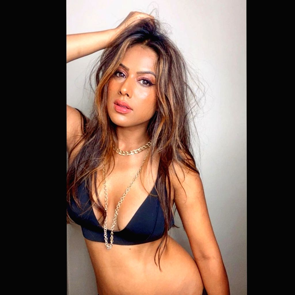 Television actress Nia Sharma has shared a sizzling picture on social media and labelled herself just a modern brown girl with goals. - Nia Sharma