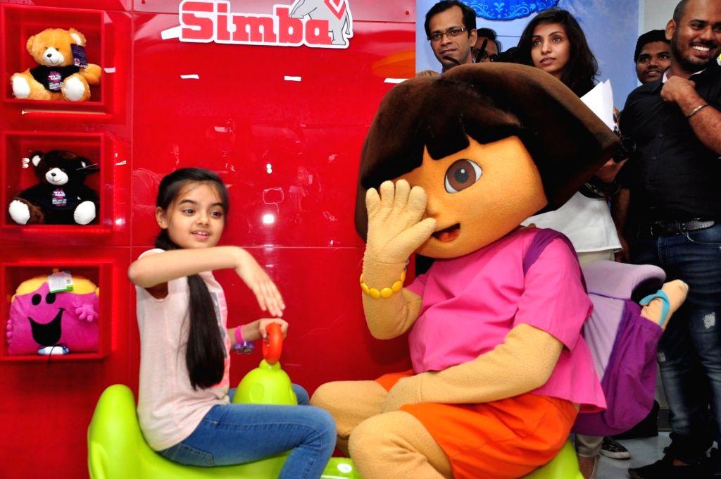 Television actress Ruhanika Dhawan during the launch of Simba Toys new store in MumbaI on April 6, 2016 - Ruhanika Dhawan