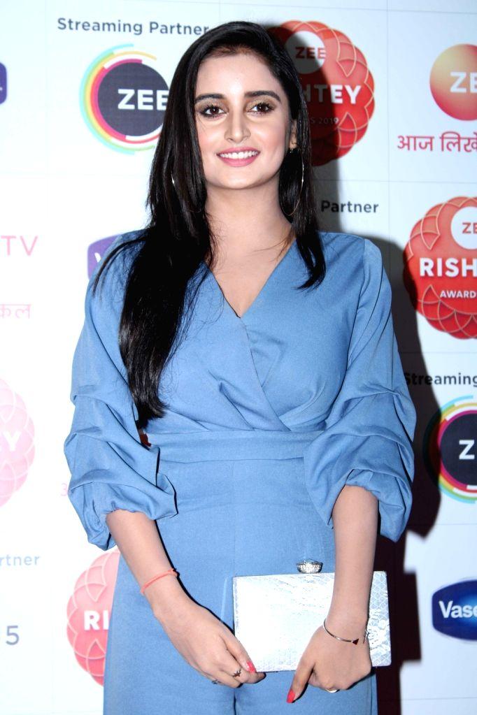 "Television actress Sambhabana Mohanty during the red carpet of the grand celebration of ""Zee Rishtey Awards"" 2019 in Mumbai on Nov 16, 2019. - Sambhabana Mohanty"