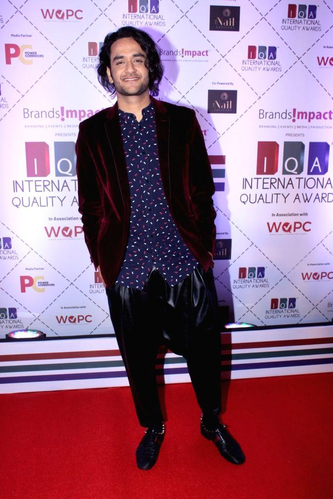 Television producer Vikas Gupta during 2019 International Quality Awards (IQA) in Mumbai, on March 15, 2019. - Vikas Gupta