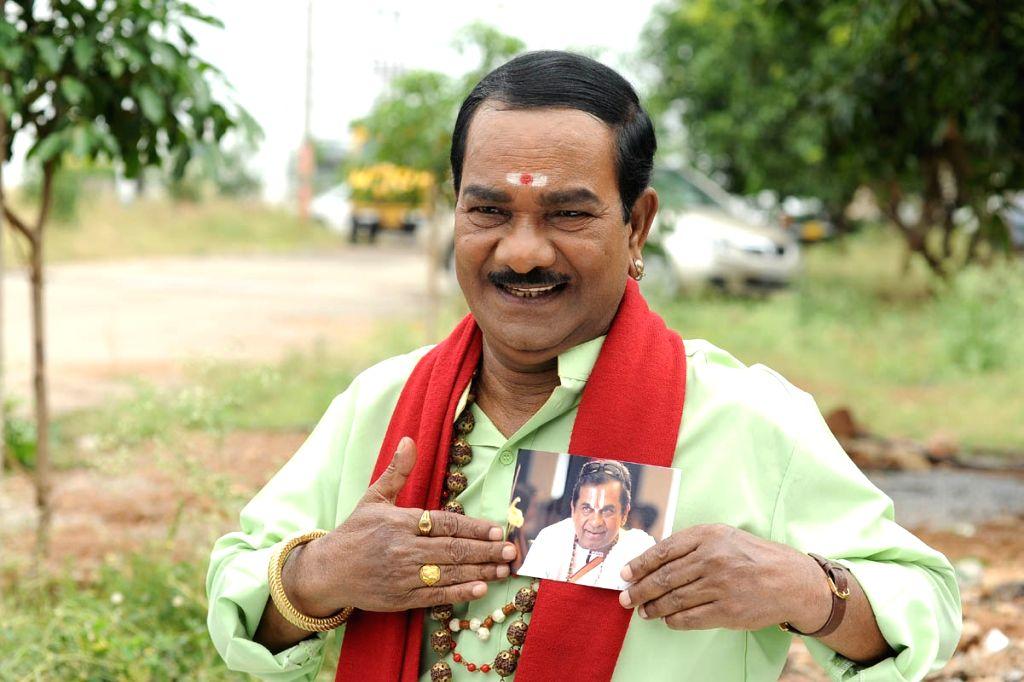 Telugu comedian actor Kondavalasa Passed Away. (File Photo: IANS) . - Kondavalasa Passed Away