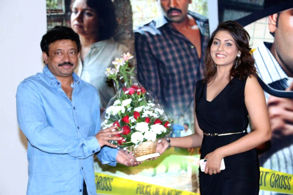 Telugu film Anukshanam Promo Song Launch in Prasad Labs studio at Hyderabad on 5th Aug 2014 (Photo: IANS)(