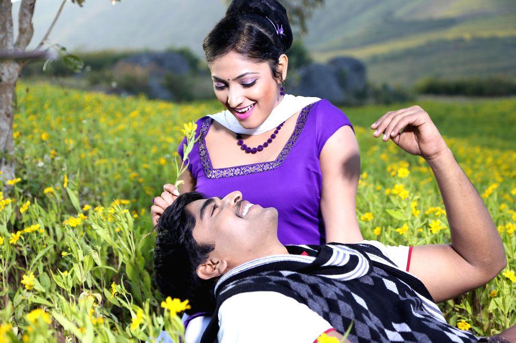 Telugu film Galata stills.
