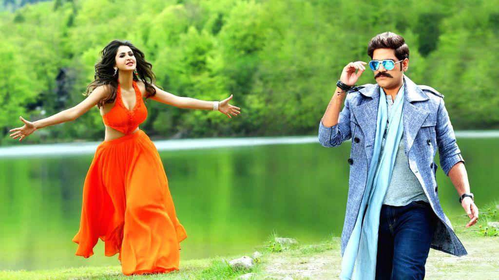 "Telugu FILM ""Jayadev"" stills."