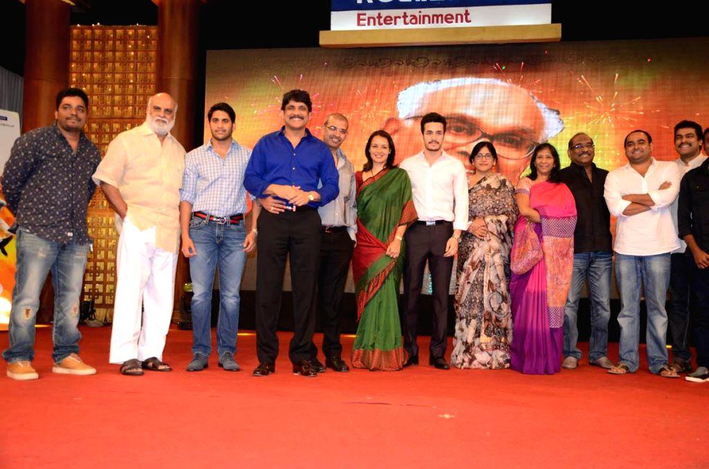 Telugu film `Manam` success party held at Annapoorna studios 7 acres on Monday, 14, July 2014.