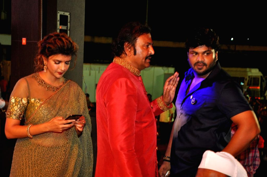 Telugu film MB 40 celebs of Mohan Babu's 40 years film career in Hyderabad on Sept 17, 2016.