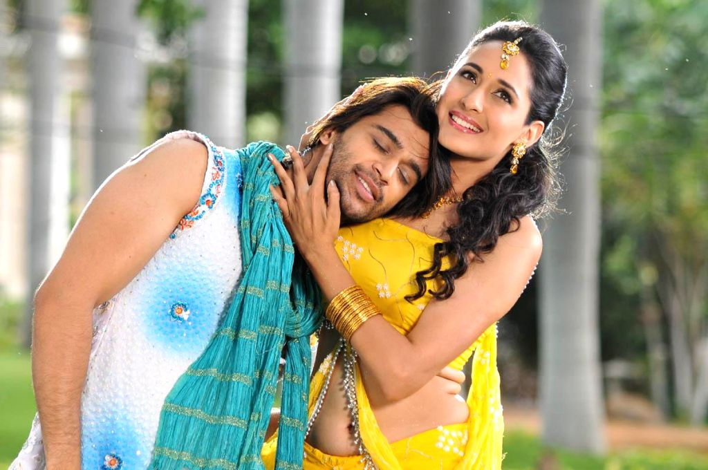Telugu film Mirchi Lanti Kurradu Stills in Hyderabad. (Photo: IANS).