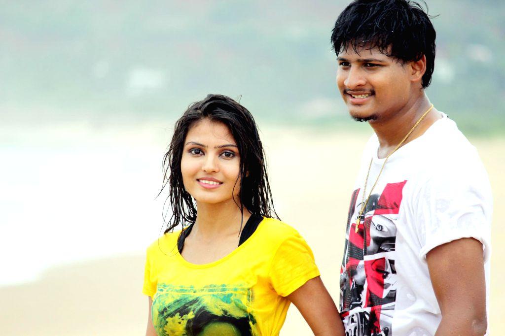 Telugu movie `B Tech Love Story` Stills.