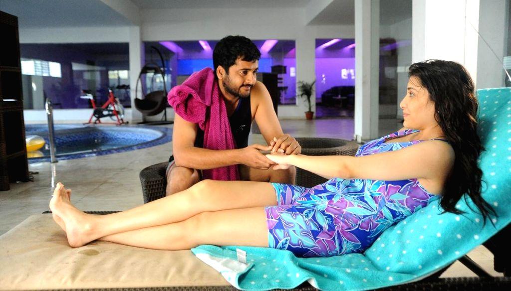 Telugu movie `Boochamma Boochodu` stills.