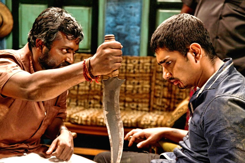 Telugu movie 'Chikkadu Dorakadu'. Stills