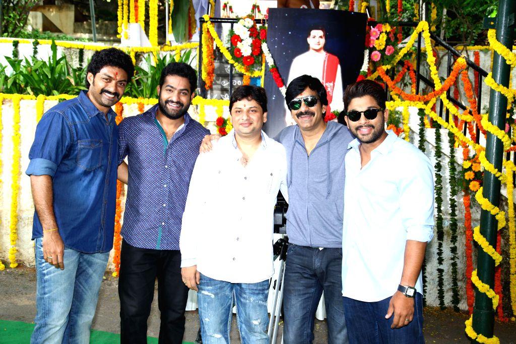 Telugu movie `Kick 2` film muhurath.