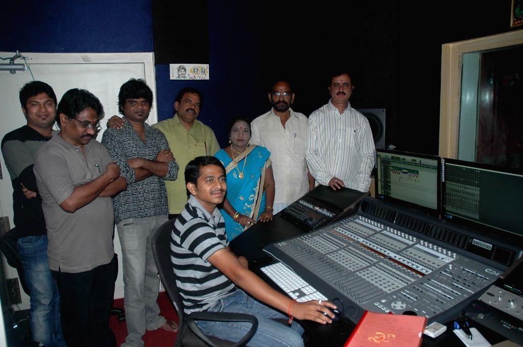 Telugu movie `Nenikkada Nuvvakkada` songs recording launched.