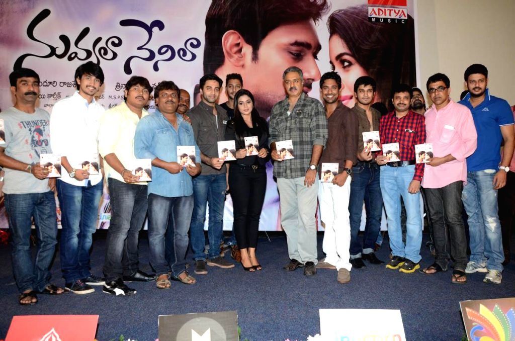 Telugu movie Nuvvala Nenila audio release function held at Prasad Labs in Hyderabad on Wednesday 16, 2014 July evening.