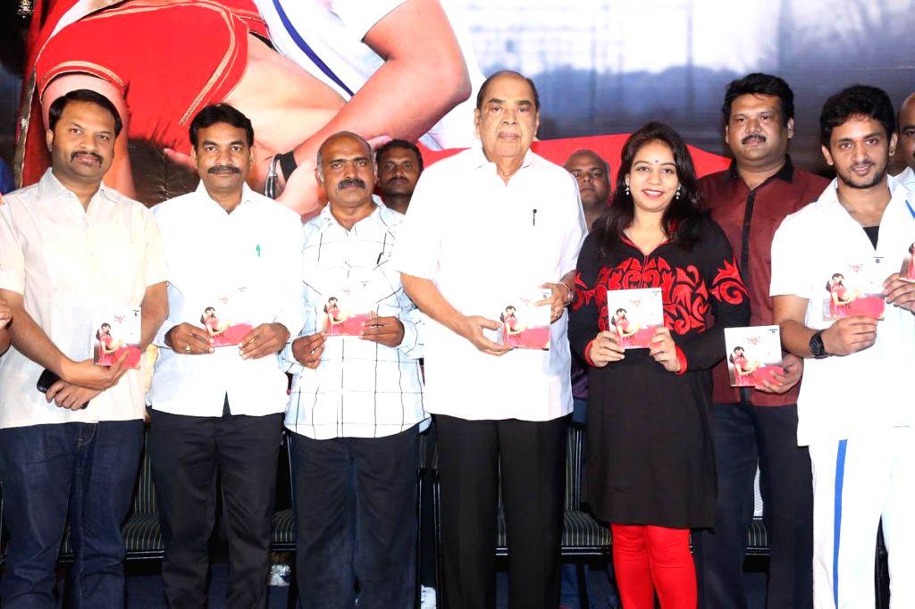 Telugu movie `Oka Criminal Prema Katha` audio CD release.