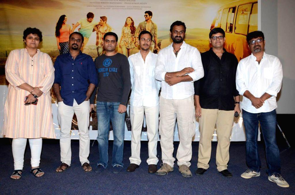 Telugu movie `Pathashala` theatrical trailer launch.