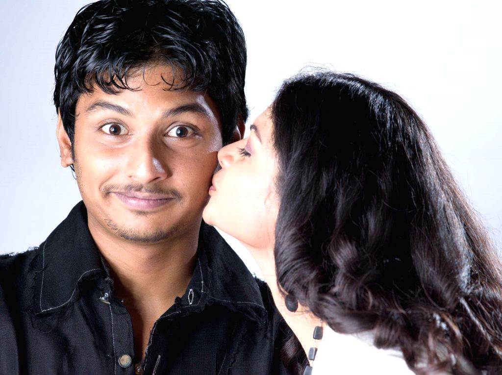 Telugu movie `Rangam Modadayyindi` stills.