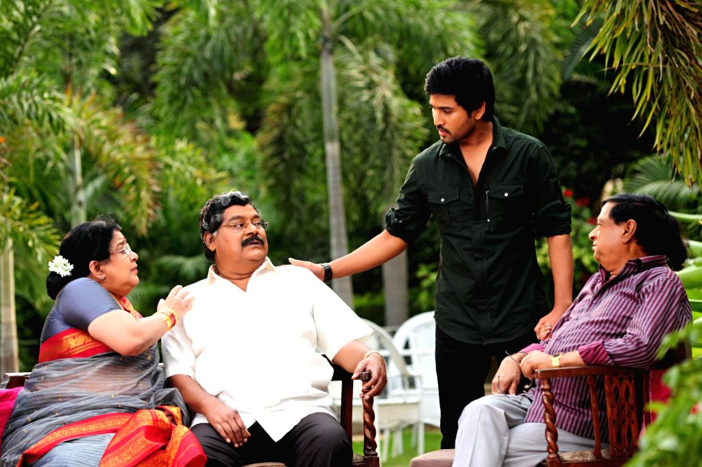 Telugu movie `Yamaleela 2` stills.