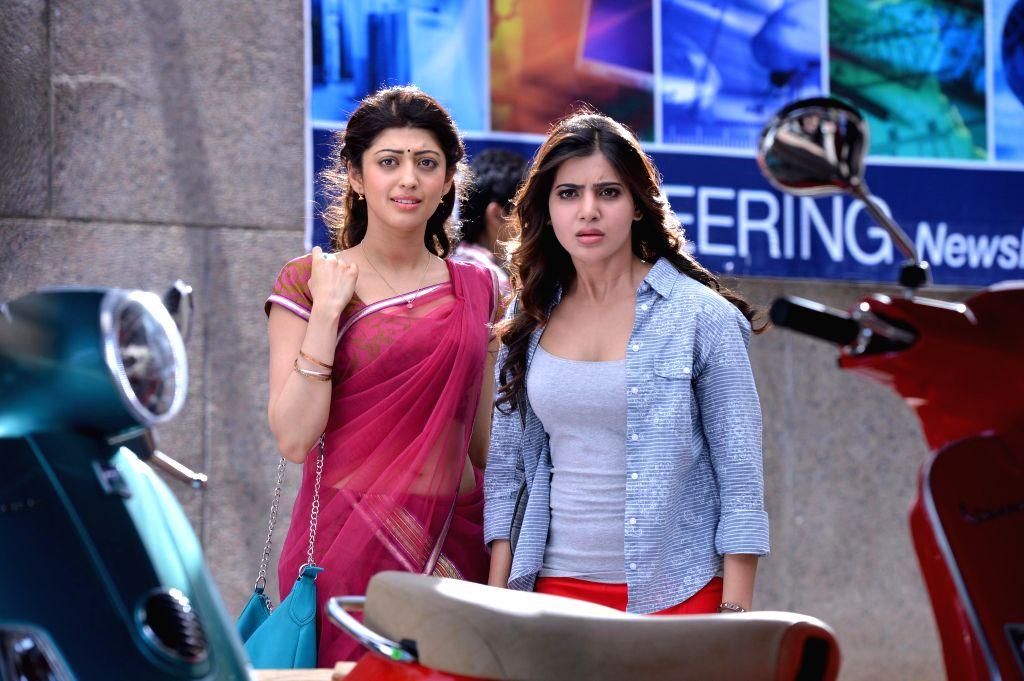 Telugu new film `Rabhasa` stills .