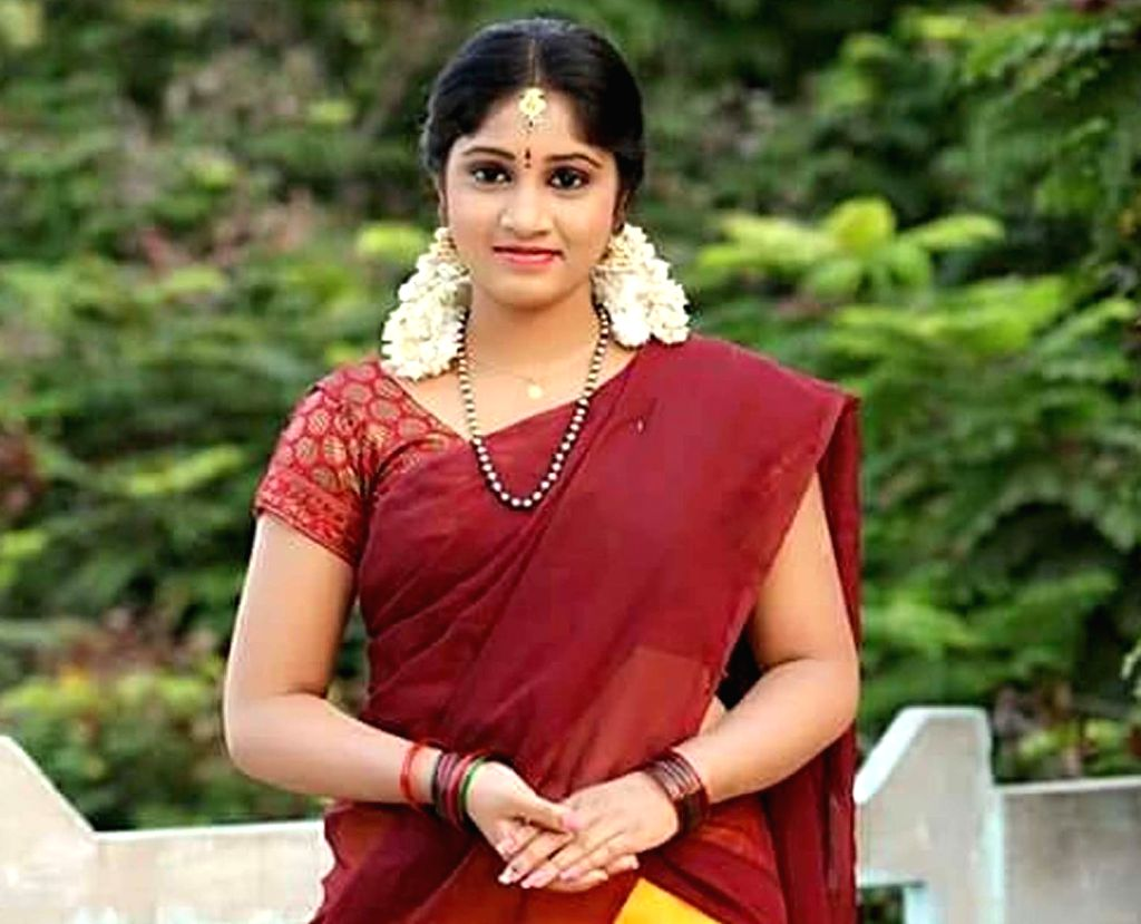 Telugu television actress Naga Jhansi, who committed suicide allegedly over a failed love affair, at her house in Hyderabad on Feb 6, 2019. (File Photo: IANS) - Naga Jhansi