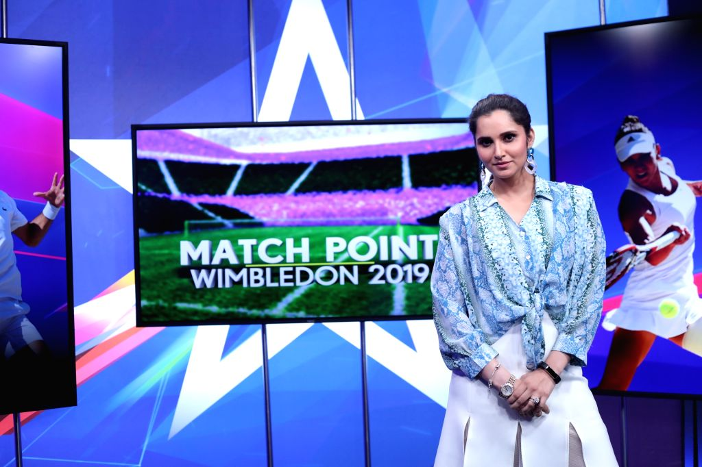 Tennis star Sania Mirza will join broadcasters Star Sports as an expert to analyse the day-to-day action of the ongoing Wimbledon for fans across the country. - Sania Mirza