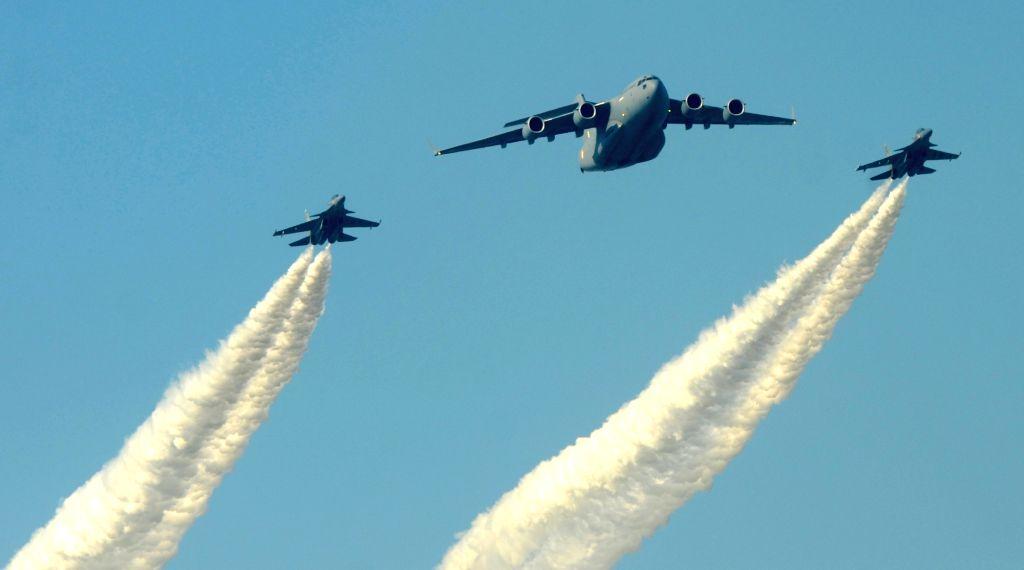Test flight of IAF fighter triggers sonic boom in Bengluru