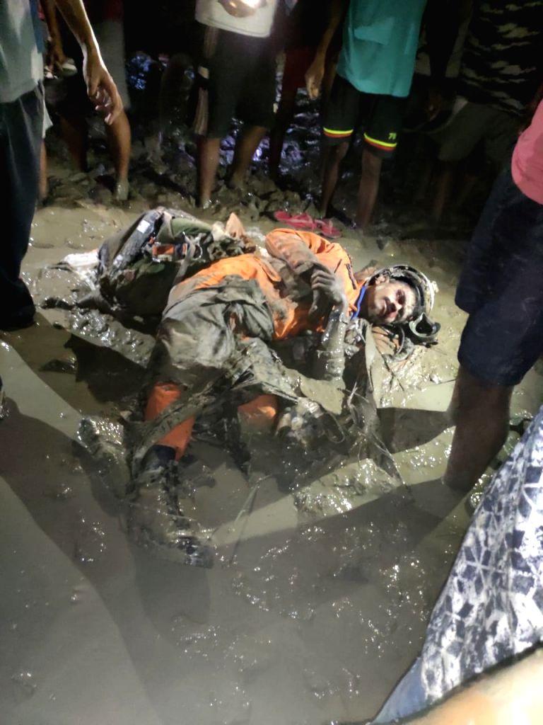 Tezpur: The pilot of IAF's Sukhoi MKI 30 that crashed in Assam's Tezpur on Aug 8, 2019. (Photo: IANS)