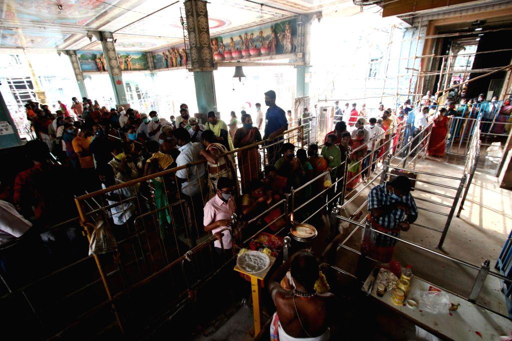 Thaipoosum festival celebrations in Chennai on 28 January 2021