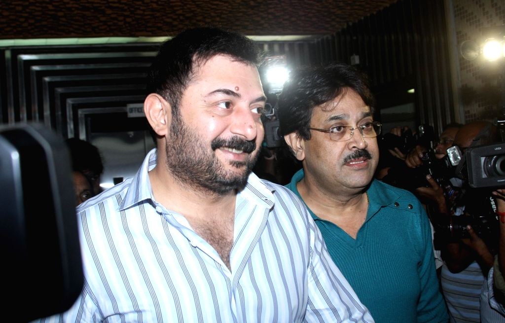 'Thalaivi': Arvind Swami's 1st look as MGR unveiled. (Photo: IANS)