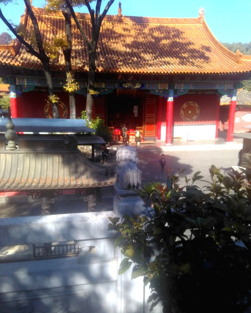The 1,200-year-old Yuantong Temple in Kunming.