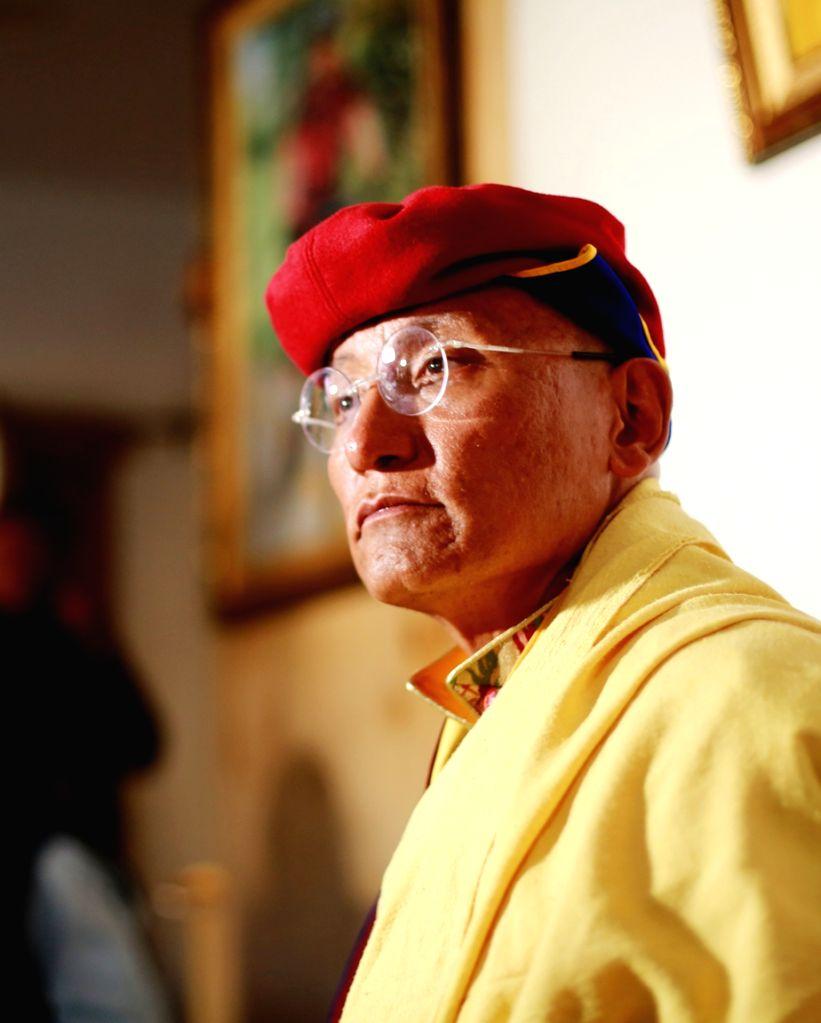 The 12th Gyalwang Drukpa, the Buddhist spiritual head of the 1,000-year-old Drukpa Order based in the Himalayas.